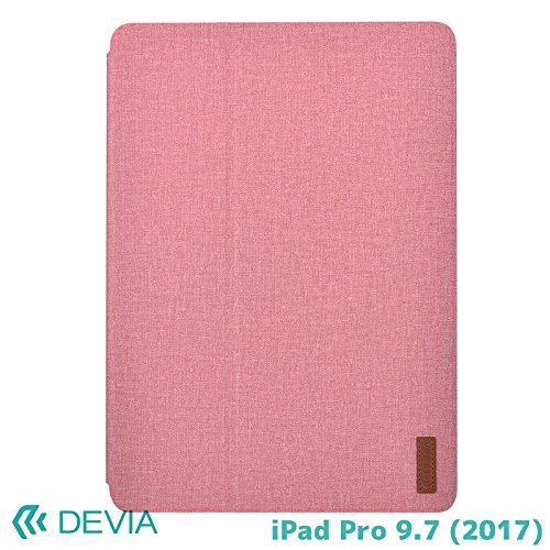 iPad Pro 9.7用 デヴィア 手触りの良い合皮レザーのカバー ディスプレイ&キーボードスタンド付きカバー BLDVCS5009-PK BLDVCS5009-PK
