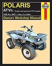 Polaris ATVs 250-800cc, '98-'07: 1998 thru 2007 250cc thru 800cc (Haynes Powersport)