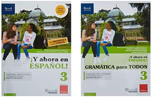 ¡Y ahora en español! Con Gramática para todos. Per la Scuola media. Con ebook. Con espansione online. Con DVD-ROM (Vol. 3)