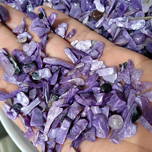 New sales Decor Stone Natural Perfect Max 87% OFF Charoite Siz Jewel - Crystal Gravel