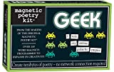 Magnetic Poetry - Geek Kit - Words for Refrigerator - Write Poems and Letters on the Fridge - Made...