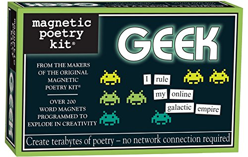 Our #3 Pick is the Magnetic Poetry Words for Refrigerator Geeks Kit