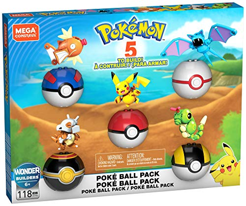 Mega Construx Pokémon Poké Ball Bundle Exclusive