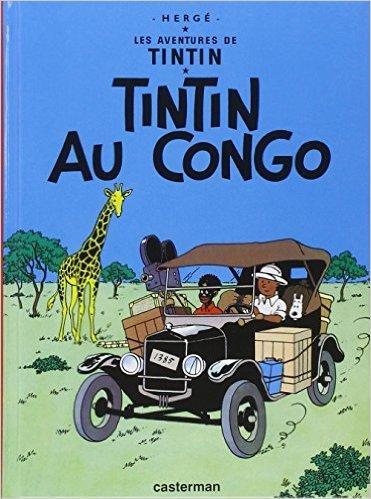 Tintin Valise T2 au Congo