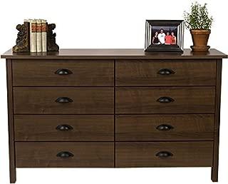 Venture Horizon 8 Drawer Nouvelle Dresser Walnut