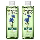 Garnier Bio Agua micelar limpiadora , Agua orgánica de aciano para piel y ojos sensibles - 400 ml -...