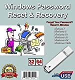9th & Vine Compatible Password Reset Recovery USB for Windows 10, 8.1,8, 7, Vista, XP in 32-64 bit. #1 Best Unlocker Software Tool for All PCs and Laptops