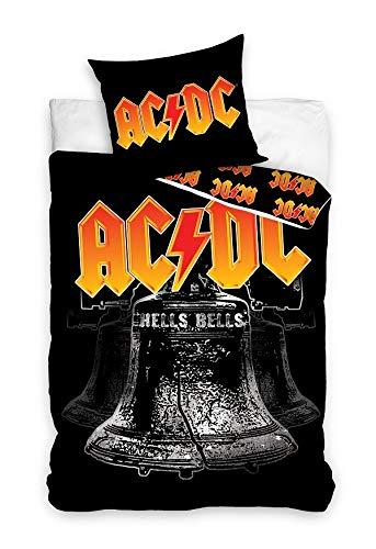 Unbekannt ACDC Bettwäsche ACDC181007 Musik AC/DC 160x200cm + 70x80cm 100% Baumwolle