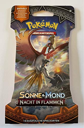 collect-it 1 Booster im Blister - SM3 - Nacht in Flammen - Deutsch - Pokemon