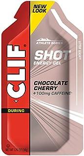 CLIFBAR Food Caffeine Choco Cherry Turbo Gel (Box of 24), 100mg