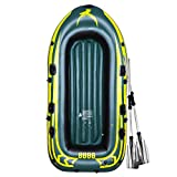 Yocalo Inflatable Boat Series,raft Inflatable Kayak, Fishing Boat Kayak,3-4 Person Boat with...