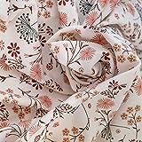 Jersey-Stoff Baumwolle Blumen-Blümchen-Muster | Stoffe zum
