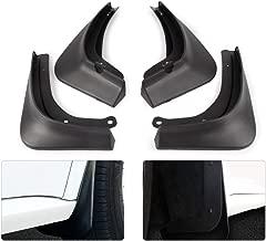 KKmoon 4Pcs Car Mud Flaps, Front Rear Mudguard Splash Guards Fender Mudflaps Fit for Tesla Model 3 2016-2019