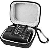 Car and Auto Mini Carry Case Compatible with BlueDriver Bluetooth Pro OBDII OBD2 Scan Tool Monitor for iPhone & Android - Black (Bag Only)