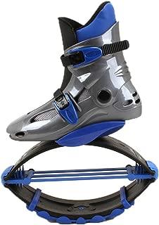 Girls Boys Fitness Jumps Shoes Gravity Boots Kids Bounce Boot Anti-Gravity Running Boots Adults Women Men,Blue,36/38