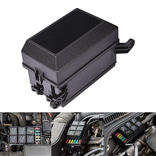 MicTuning 12-Stecker Relais Box Relaishalter, 6 Relais und 6 ATC/ATO Sicherungen Halter mit 41pcs Metallic Pins für Auto und Marine Boot
