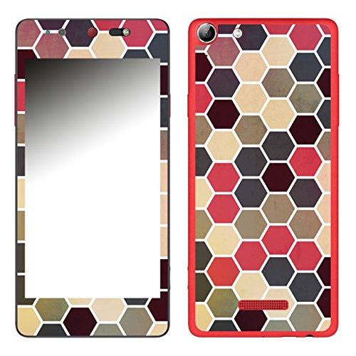 Disagu SF-106693_1205 Design Folie für Wiko Selfy 4G - Motiv Polygone 02