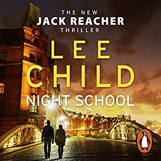 Night School     Jack Reacher 21              By:                                                                                                                                 Lee Child                               Narrated by:                                                                                                                                 Jeff Harding                      Length: 11 hrs and 12 mins     1,943 ratings     Overall 4.3