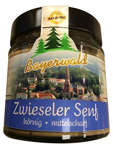Premium Senf im Glas * Bayerwald Feinkost * 180ml Delikatesse (Zwieseler Senf)