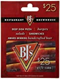 Enjoy delicious, innovative spin on your favorite foods, including deep dish pizzas, salads, sandwiches, pastas, steaks, and so much more. Redeemable at participating BJs Restaurants nationwide and online. BJ's Gift Cards make perfect gifts for holid...