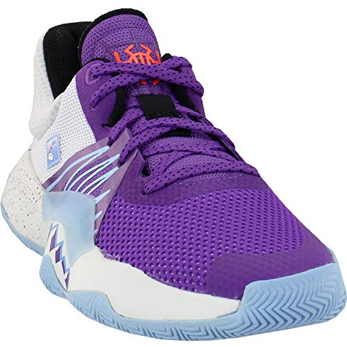 adidas Kids Girls D.O.N. Issue #1 Basketball Sneakers Shoes Casual - Purple - Size 6 M