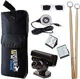 Aerodrums Air-Drumming SB-01 - Batería electrónica con cámara PS3 y baquetas Keepdrum