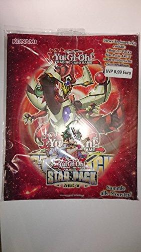 Yu-Gi-Oh Arc-V Beginner´s Kit : 3 Booster, Sammelmappe, Kartenübersicht