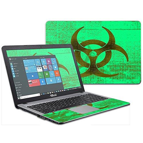 MightySkins Skin Compatible with Asus VivoBook X540SA X540LA 15.6 wrap Cover Sticker Skins Biohazard