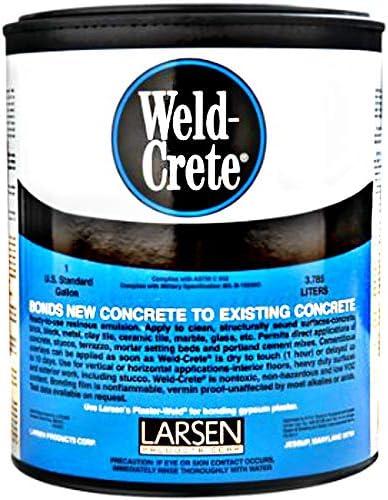 Gallon SALENEW very popular! Genuine Free Shipping Weld Crete Agent Concrete Bonding