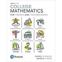 College Mathematics for Trades and Technologies Plus MyLab Math - Title-Specific Access Card Package (10th Edition)【洋書】 [並行輸入品]