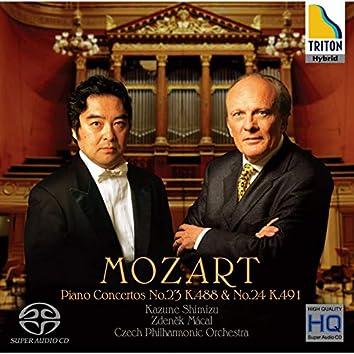 Mozart: Piano Concertos NO.23 & .24