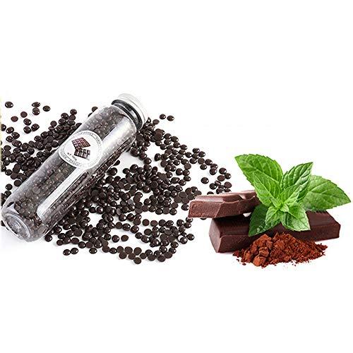 Les Haricots de Cire -pour Indolore Cire Visage Sourcils Corps Soudure pour Underarm Leg Bikini Hard Wax Bean avec 10 saveur différente,Chocolat