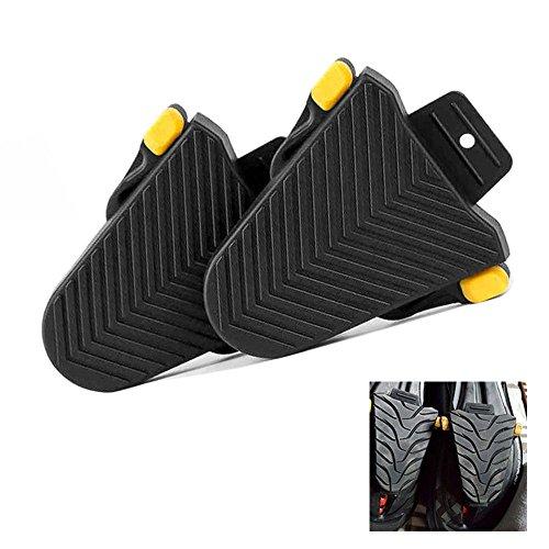 SPD-SL Cubiertas Taco de zapato, 1 par Protectores de Calas Shimano Adaptador de Pedal Calas SPD-SL, Mejorar la Capacidad de Caminar, Negro