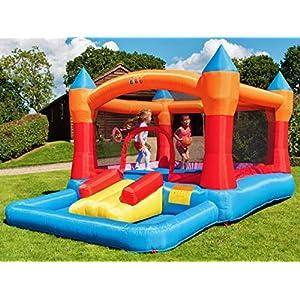 BeBop Parque acuático Hinchable para jardín Wild Splash para niño ...