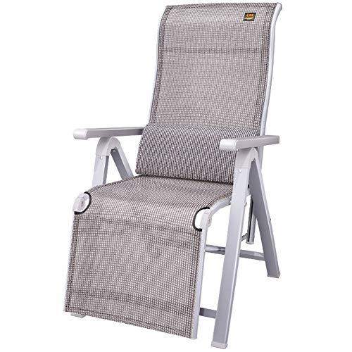Métal Chaise longue, pliante Cabine de bronzage, 170 x 60 x 40 cm, 200 kg max.Résistant à la rouille, avec synthétique respirante Tissu for la plage Piscine extérieure Patio Jardin Camping c2024