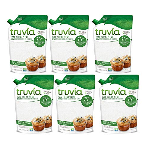 Truvia Sweetener Baking Blend, Now Called 'Cane Sugar Blend' 2 Pack, 1.5 LBS each