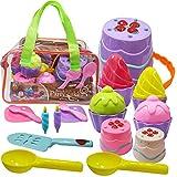 Hymaz Kids Beach Toys Set with Bucket Pail and Spade -...