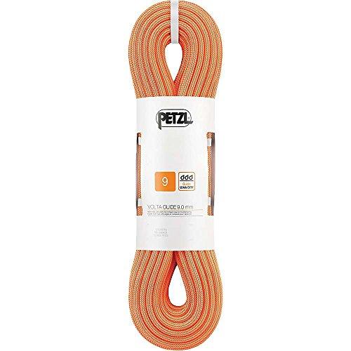 PETZL Kletterseil Volta Guide 9,0mm, UIAA Dry,60 m, orange, One Size