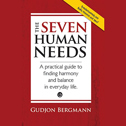 The Seven Human Needs audiobook cover art