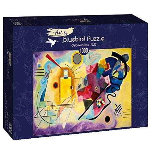 Puzzle Arte Kandisky Amarillo Rojo y Azul 1000 piezas Bluebird