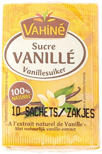 Vahiné Vainilla Azúcar Paquete De 10 Paquetes X 7,5 G