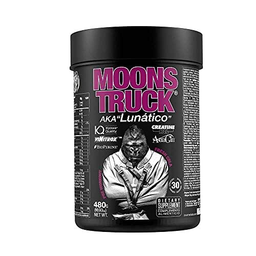 Moonstruck - Pre entreno Potente - Pre training - Suplemento Deportistas - Creatina HCL - Beta Alanina - Cafeína - Citrulina - Vitaminas A y B - 480 gr, 5 sabores (FRESH COLA)