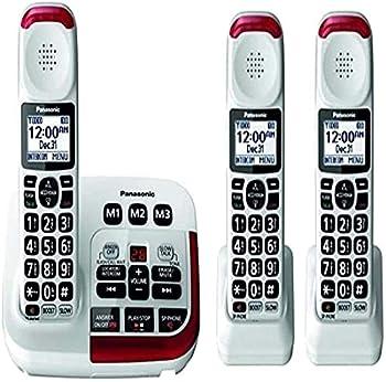 Panasonic KX-TGM420W Amplified Cordless Phone  3 Handsets