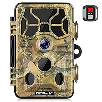 Campark Trail Camera-WiFi 20MP 1296P Hunting Game Camera with Night Vision Motion Activated for Outdoor Wildlife Monitoring Waterproof IP66 Trail Cam with Remote Control