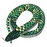 VICASKY Encantadora simulación Serpiente Juguetes de Peluche Serpiente Gigante muñecos de Peluche Juguete para niños