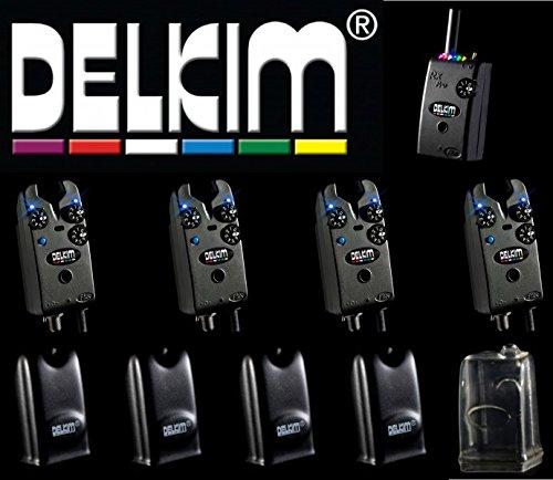 Delkim 4 TXi Plus Bissanzeiger + RX Receiver Plus Pro 6 Led