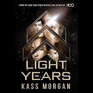 Light Years audiobook cover art