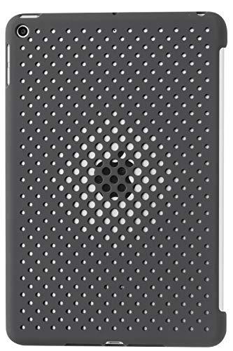 AndMesh iPad mini5 ケース Mesh Case 放熱 薄型 軽量 純正スマートカバー対応 背面ケース チャコールグレー 612-960601