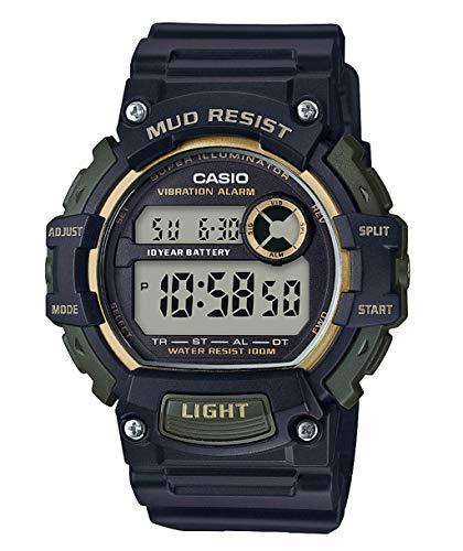 Casio Reloj Digital para Hombre de Cuarzo con Correa en Resina TRT-110H-1A2VEF