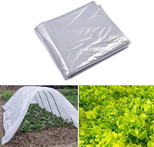 DSJMUY Garden Grow Polytunnel Cover, Material de Bricolaje para jardín, Paneles de Techo de Invernadero, Invernadero de Aluminio, Varios tamaños (Marco no Incluido)(6.5 * 13.1ft(2 * 4 m))